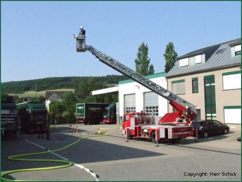 Feuerwehrübung Juni 2010